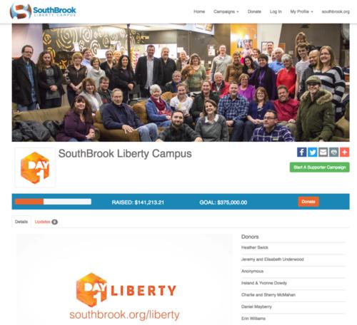 campaign fundraising platform