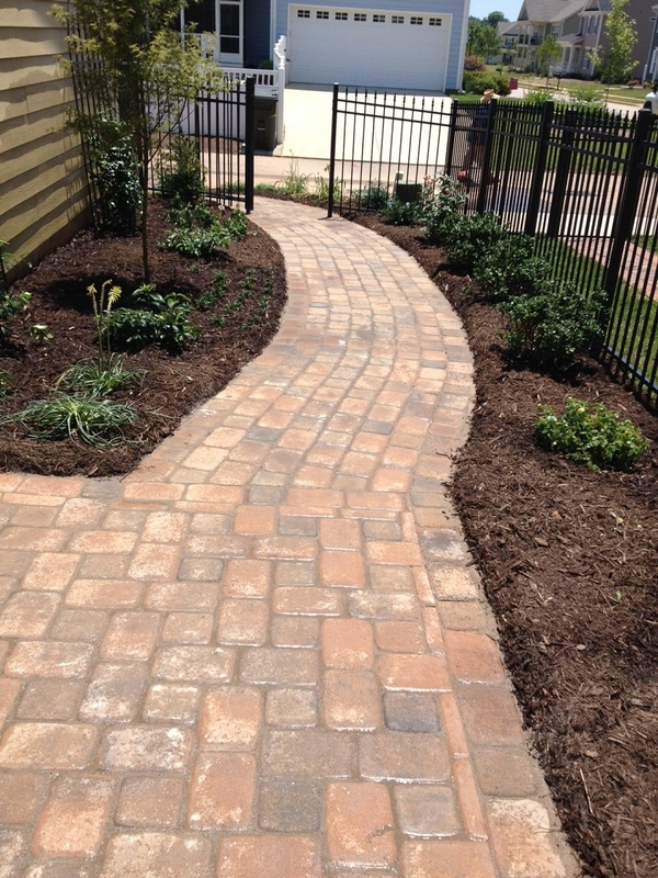 Outdoor Pavers Logan : Paver patio installation bristow landscaping wake forest raleigh